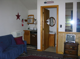 Cottage 4 interior