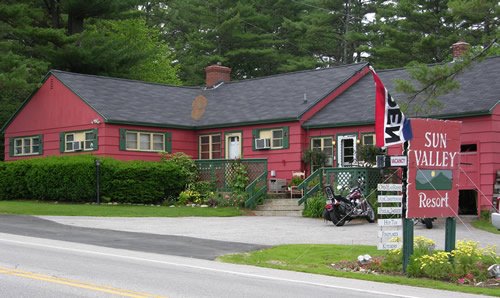 Welcome to Sun Valley Cottages - front of building
