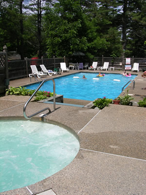 The Pool at Sun Valley Cottages
